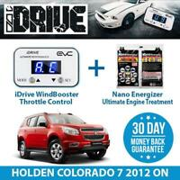 IDRIVE THROTTLE CONTROL - HOLDEN COLORADO 7 2012 ON + NANO ENERGIZER AIO