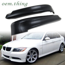 IN STOCK USA BMW E90 4D OE Bumper Body kit Front Splitter Lip Spoiler 06-08