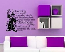 Hobbit Inspired Gandalf Wall Decal Sticker Small Every Day Deeds of Ordinary Fol