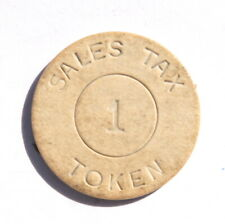 Alabama State Department of Revenue 1 Sales Tax Token