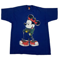 Vintage Mickey Unlimited Jerry Leigh T-Shirt Single Stitch Hip Hop Graphic Sz XL