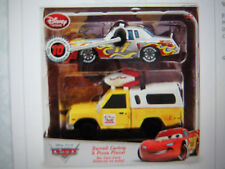 DISNEY CARS 10TH ANNIVERSARY DARRELL CARTRIP & PIZZA PLANET DISNEY STORE TWIN PK