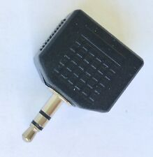 3.5 mm Stereo Jack Plug to 2 x 3.5 mm Sockets Adaptor Headphone Splitter Adaptor