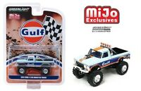 Greenlight 1/64 1974 Ford F-250 Monster Truck GULF Livery Limited Edition 51288