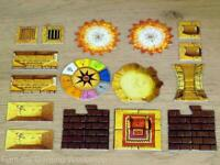 Advanced Heroquest Scenery/Effect Tiles/Markers (Chest, Stairs, throne..) (D&D)