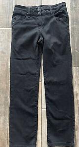 Next Lift Slim Shape Jeans Slim Leg Black Denim Size 14 R BNWOT