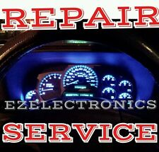 2003 to 2006 GM Chevrolet GMC Instrument CLUSTER REPAIR SERVICE W LED UPGRADE