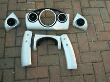 Mini  Cooper One Interior Dash Trim Fascia Set SILVER R50 R52 R53