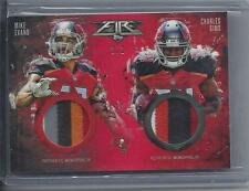 MIKE EVANS CHARLES SIMS 2014 TOPPS FIRE BUCCANEERS DUAL 4 COLOR PATCH RC #D 1/1