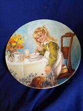 "8.5"" Reco Knowles Plate ""Breakfast"" by John McClelland 1986"