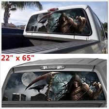 165x56cm Car SUV Window Tint Eye-catching Sticker Rear Window Graphic Decal