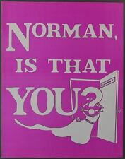 KENLEY PLAYERS OHIO Norman Is That You HARVEY KORMAN Theatre Program