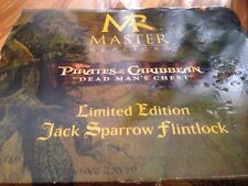 Disney Jack Sparrow Flintlock Master Replicas Ltd Pirates Of The Caribbean
