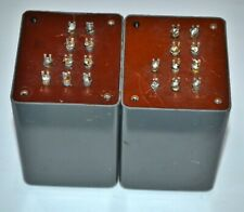 2 Vintage ADC A14421 Transformers Output Bridging 20K to 600/150ohm