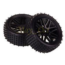 2x 1/10 HSP Off-road Buggy 06101 Front Wheel Rim Tyre,Tires Insert Sponge 66020