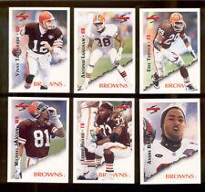 1995 Score Cleveland Browns Set VINNY TESTAVERDE LEROY HOARD ERIC TURNER RISON