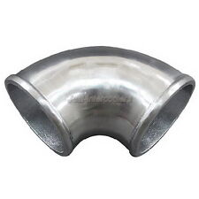"3"" Cast Aluminum 90 Degree Elbow Pipe Turbo Polished"