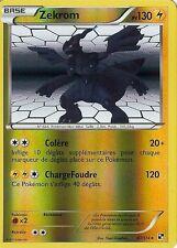 "Carte Pokemon "" ZEKROM "" Série Noir & Blanc  PV 130 47/114 RARE HOLO REV * VF"