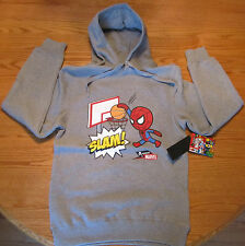 Tokidoki Marvel Comics Spider-Man Slam Men's Hoodie NEW Size Small