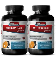 Nettle Root - Gray Hair Solution 1500mg - Metabolism Boosting Pills 2B