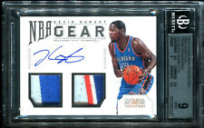 2012-13 Kevin Durant Panini National Treasure Game Gear PRIME PATCH AUTO (3/10)