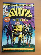 MARVEL: ASTONISHING TALES #29, 1ST GUARDIANS OF THE GALAXY APP REPRINT, 1975, FN