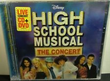 NEW SEALED  - HIGH SCHOOL MUSICAL THE CONCERT - CD+DVD - FREE SHIPPING