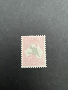 Australia 1929 SG 112 10' Roos, MH Stamp