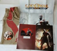 God of War Ghost of Sparta Press Media Kit Mint Condition With Game