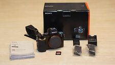 Sony Alpha a7S 12.2MP Digital Camera - Black (Body Only) w/Sony case, 64GB card