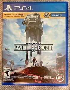 Star Wars: Battlefront (PlayStation 4, 2015) PS4 Walmart Edition Complete