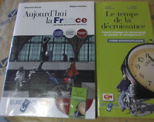 AUJOURD' HUI LA FRANCE con CAHIER con Cd - S.DOVERI R.JEANNINE - EUROPASS