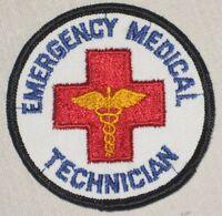 "Emergency Medical Technician Patch - Vintage EMT - Paramedic - Ambulance 3"" x 3"""