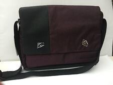 Filofax Geo Messenger Bag Aubergine