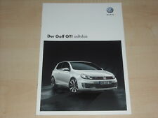 59112) VW Golf GTI adidas Prospekt 05/2010