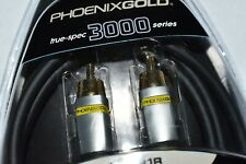 Phoenix Gold 3 ft Rca Composite Video Cable 100% Dual Shielded
