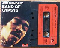 JIMI HENDRIX - BAND OF GYPSYS (POLYDOR SPEMC16) 1980s UK CASSETTE REISSUE VG+