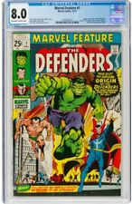 Marvel Feature #1 (Marvel, 1971) CGC VF 8.0 Off-white to white pages.