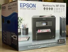 Epson WorkForce Pro WF-3733 Wireless Office All-in-One Color Inkjet Printer NEW!