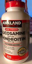 KIRKLAND Signature Extra Strength Glucosamine Chondroitin 220 tablets