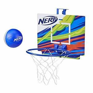 NERF Nerfoop - The Classic Mini Foam Basketball & Hoop - Indoor & Outdoor Play