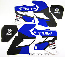 Factory Effex EVO 15 Graphics Shrouds Tank Yamaha WR 250 400 426 98 99 00 01 02