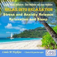Guided Meditation CD Relax CD Stress Relief CD Relax Into Relaxation CD Sleep