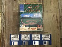 The Card Collector Software Vintage Floppy Disc Microsoft & DOS Compatible Sport