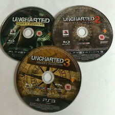 Uncharted 1, 2 Among Thieves & 3 Drake's Deception / Disc Bundle / PS3 / #3
