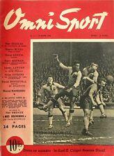 Omni Sport n°3 - 1946 - Foot Paris Prague -Joseph Guillemot - Pujazon - M Albert