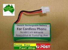 Generic 2.4V 800mAh Ni-MH battery for TELSTRA cordless BT164392 12950 12850 AU
