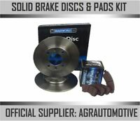 OEM SPEC REAR DISCS AND PADS 226mm FOR VOLKSWAGEN POLO 1.4 16V 1996-01