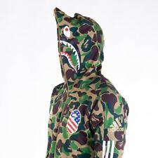 Bape X Adidas SB Shark Hoodie