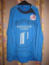 LOSC LILLE FOOTBALL SHIRT JERSEY  CANTERBURY 2008 2009 GOALKEEPER PLAYER ISSUE